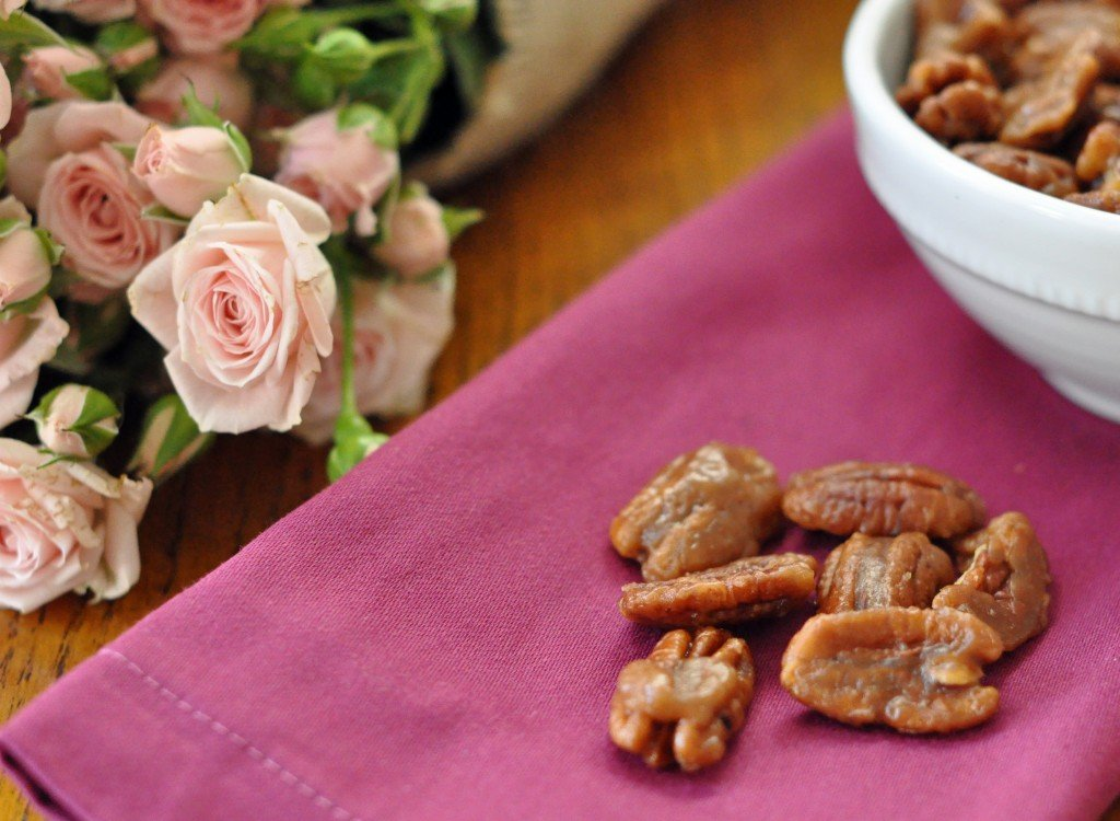 These Toffee Pecans are quick and easy to make (15 minutes) and they are completely addicting