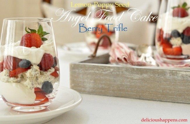 angel food cake trifle