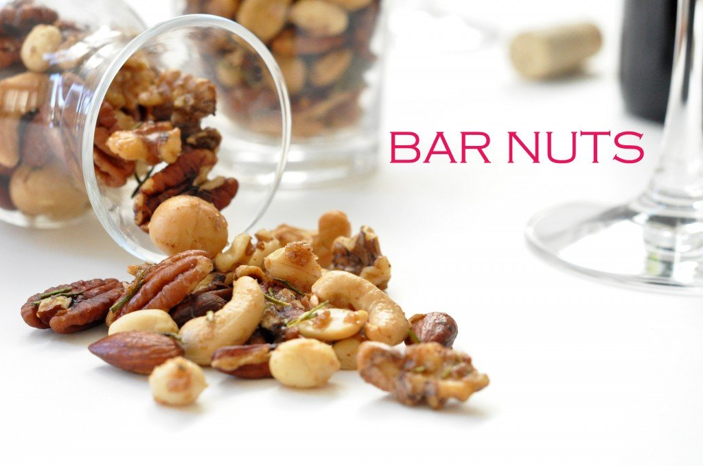 Homemade bar nuts for Food52 bar nuts