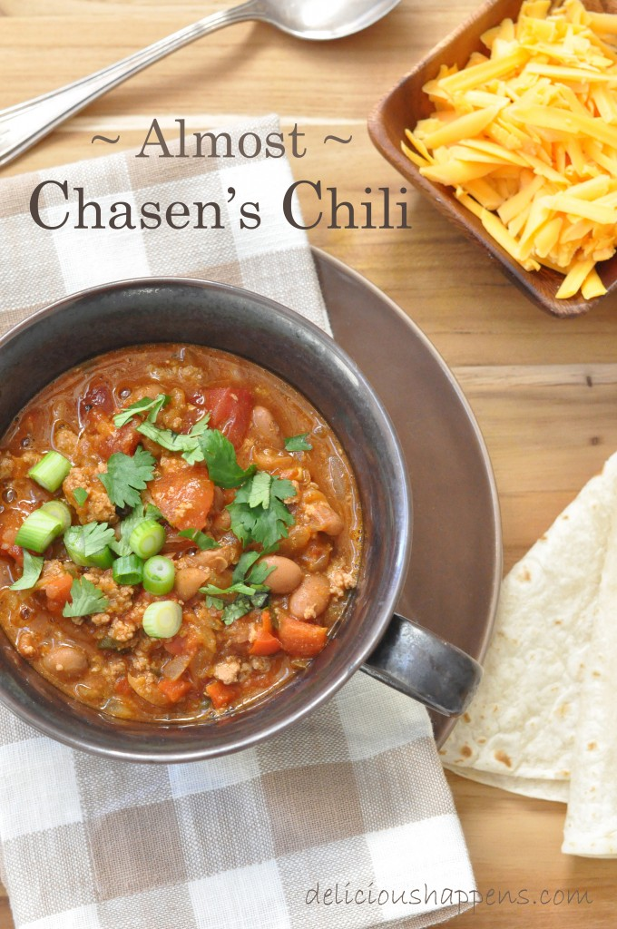 chasen's--chili
