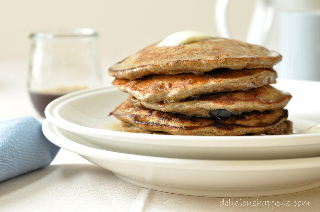 blueberry-bananas-buckwheat-pancakes-recipe