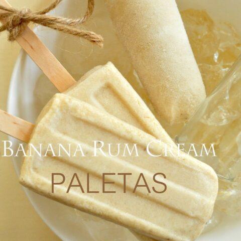 Roasted Banana Paletas