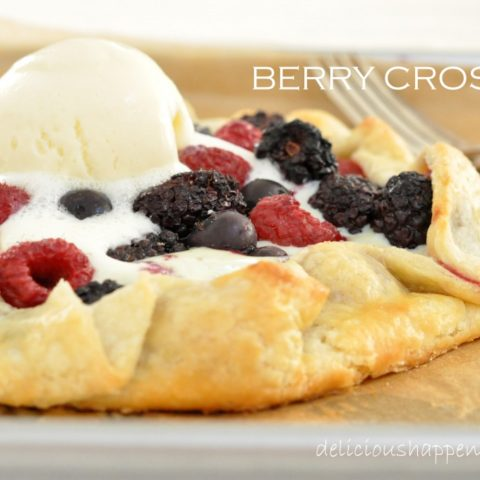 This Berry Crostata is made with fresh berries tucked in the best crust you'll ever taste