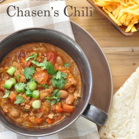 Almost Chasen's Chili