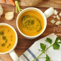 This French Potage is a blended vegetable soup made with the most humble of ingredients yet has the most incredible depth of flavor