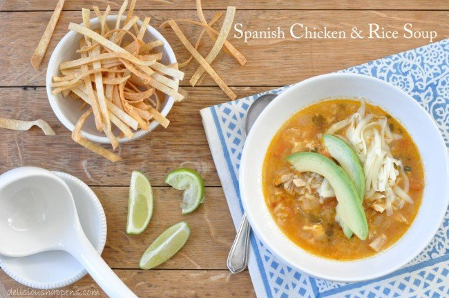 Spanish-Chicken-and-Rice-Soup