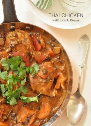 Thai Chicken with Black Beans