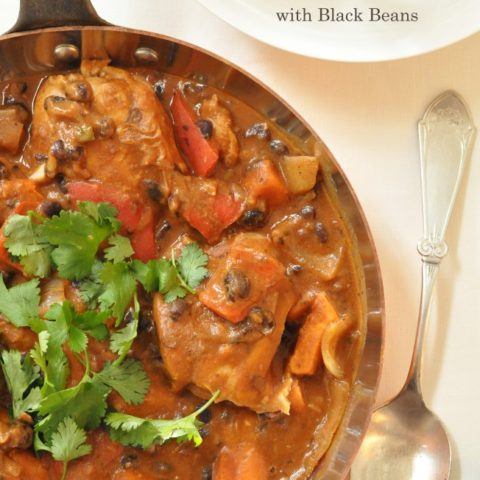 This Thai Chicken with Black Beans is an exotic mix of flavors.