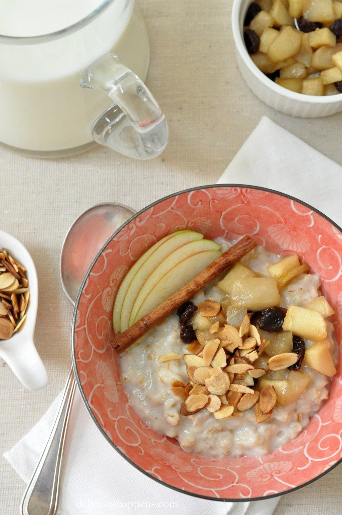 Oatmeal is the quintessential healthy breakfast cereal - Learn how to make oatmeal taste good with this Hot Oatmeal Cereal recipe