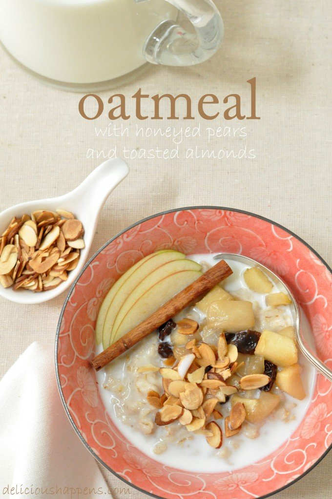 oatmeal with pears