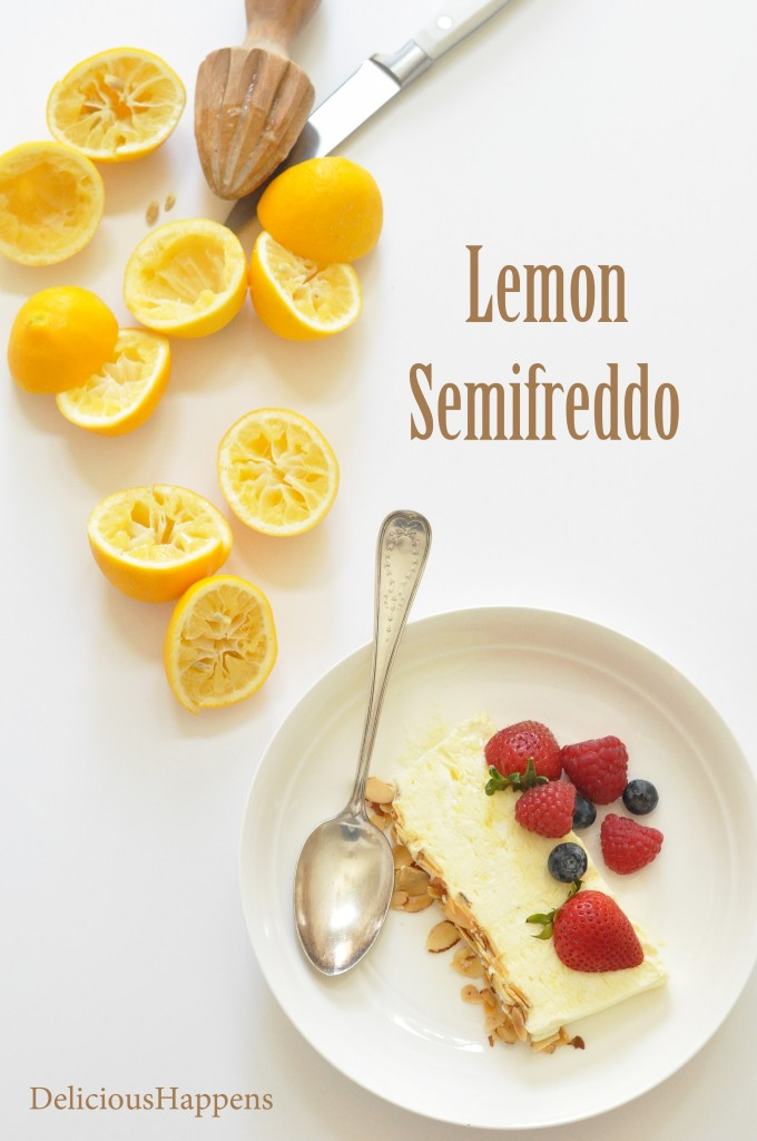 lemon-semifreddo