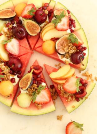 Summery Watermelon Fruit Pizza
