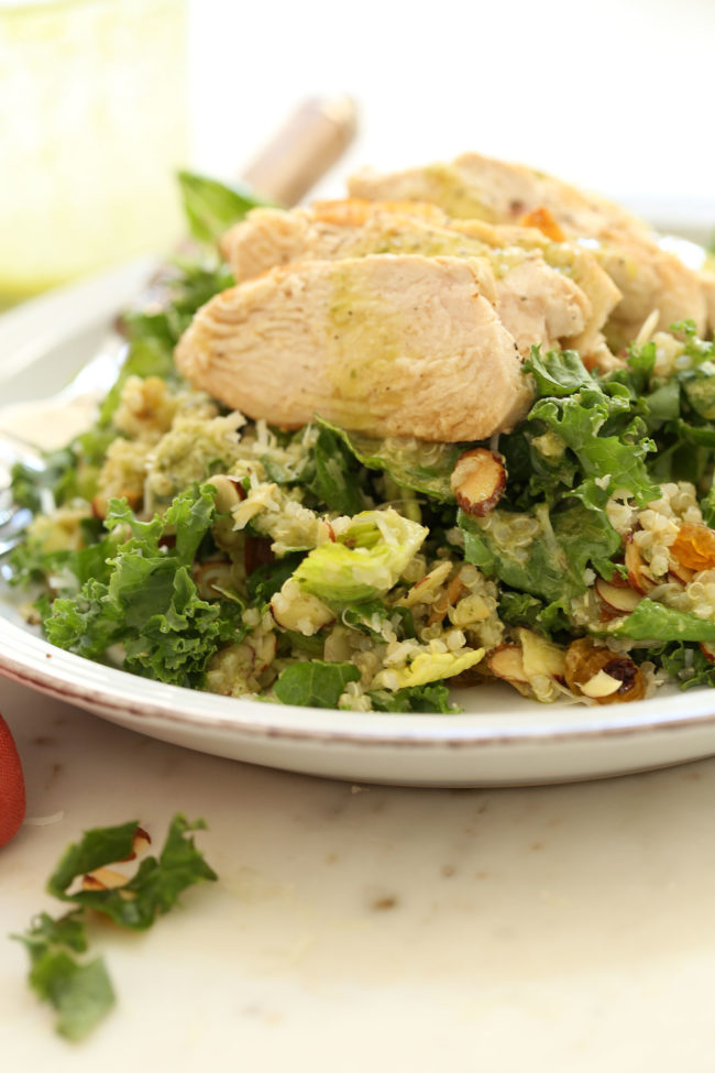 kale-salad-with-basil-vinaigrette