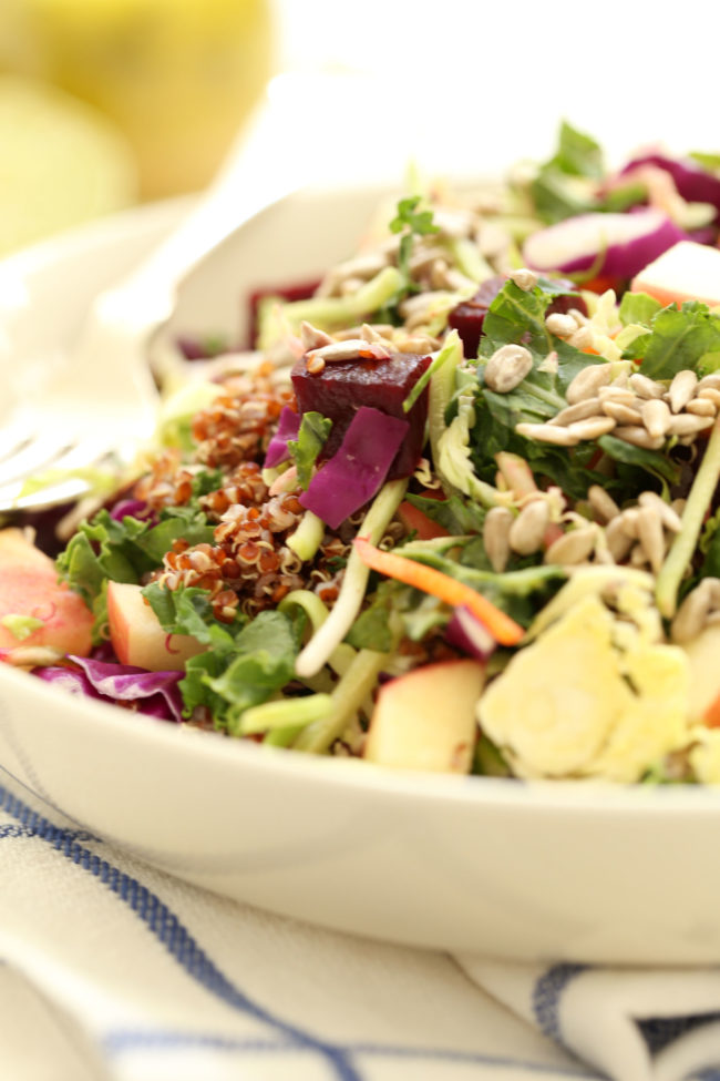This Superfood Salad is a great side dish or main salad meal