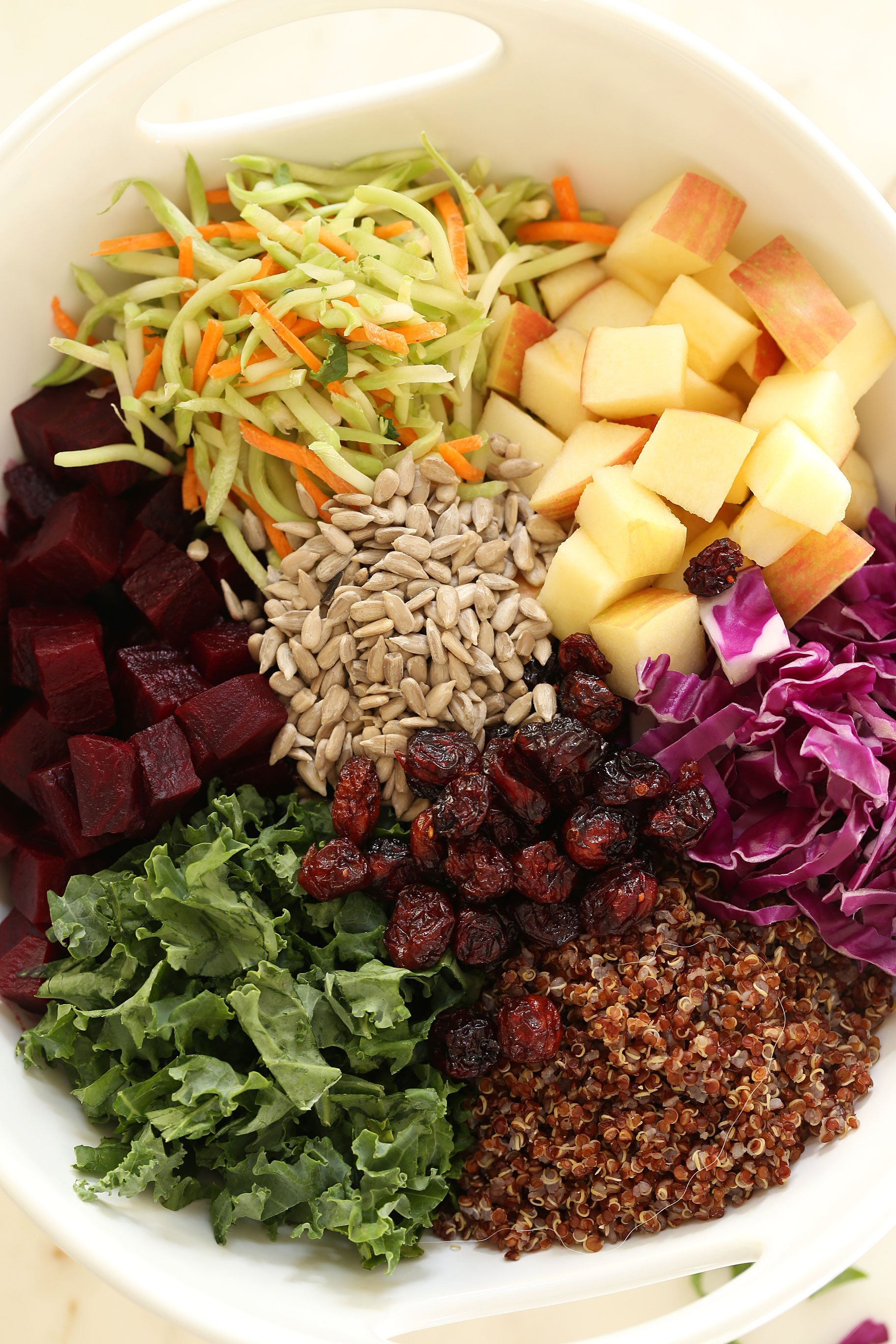 bowl of superfoods
