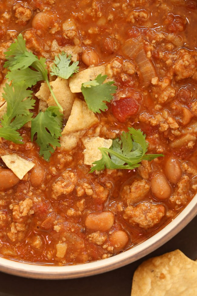 This crowd-pleasing Turkey Taco Soup gets its flavor from an aromatic ...