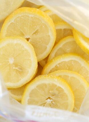 Alkalizing Frozen Lemon Slices