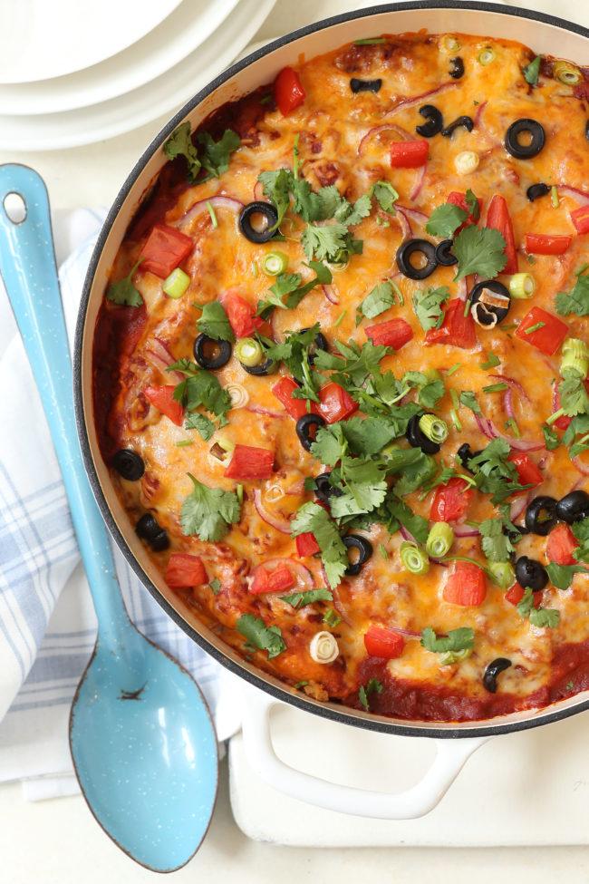 easy-turkey-enchilada-casserole