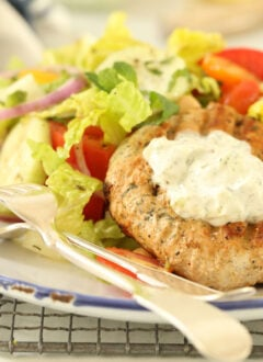 These juicy Grilled Turkey Burgers are a healthy, deliciously seasoned and are super easy Greek turkey burgers to pull together.