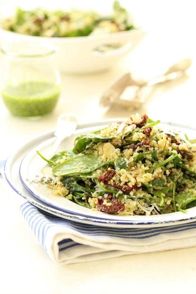 spinach-quinoa-salad
