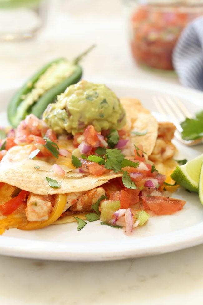 quesadilla - easy Mexican dinner recipes