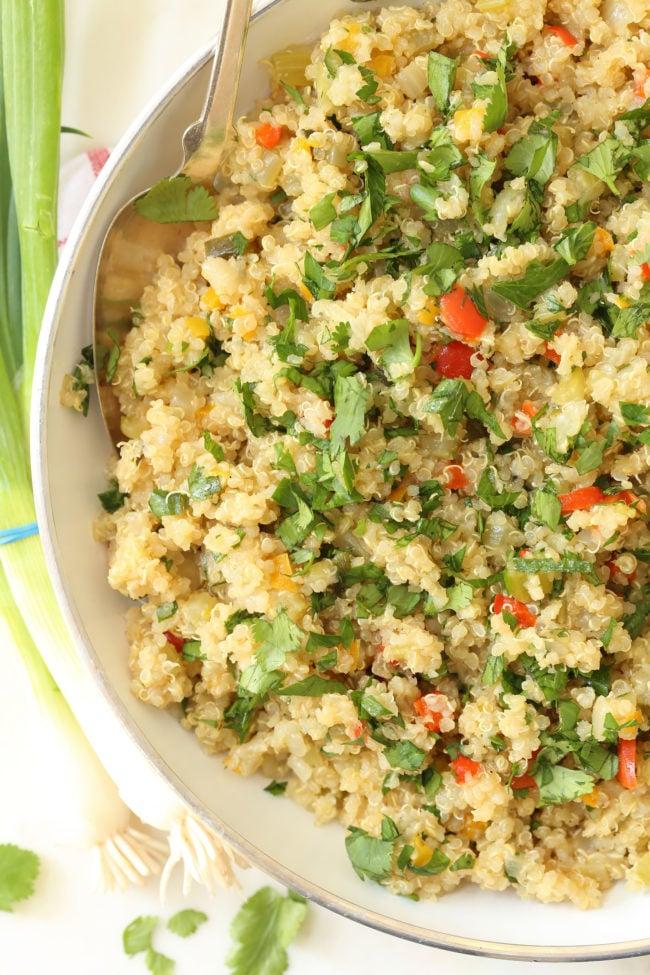 Mexican-quinoa-pilaf