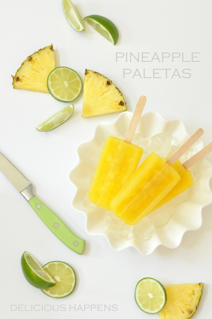 PINEAPPLE-PALETAS