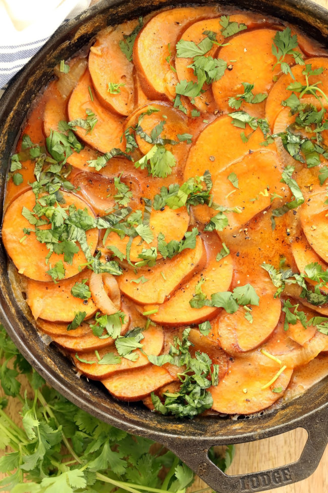coconut-curry-scalloped-sweet-potatoes