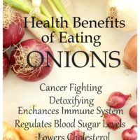 There are many Health Benefits of Eating Onions such as anti-carcinogenic, antiviral, antibacterial and antioxidant properties