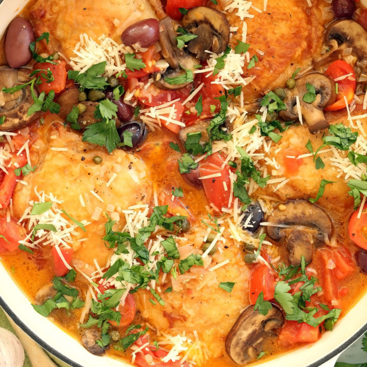 One Pan Italian Chicken
