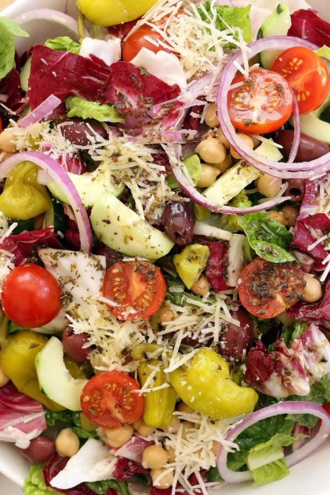 Italian Chopped Salad - The Harvest Kitchen