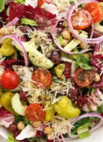 This Italian Chopped Salad rivals any Italian restaurant chopped salad there is
