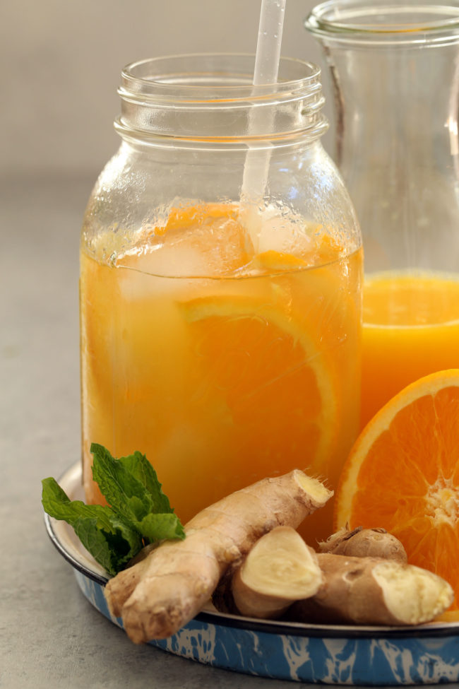 iced-orange-ginger-green-tea
