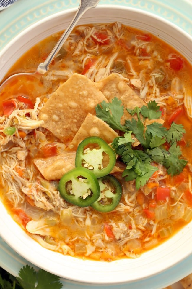 Chicken Chili Without Beans - The