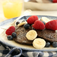 This heart-healthy Buckwheat Pancakes Recipe is gluten-free and dairy-free and super simple to make