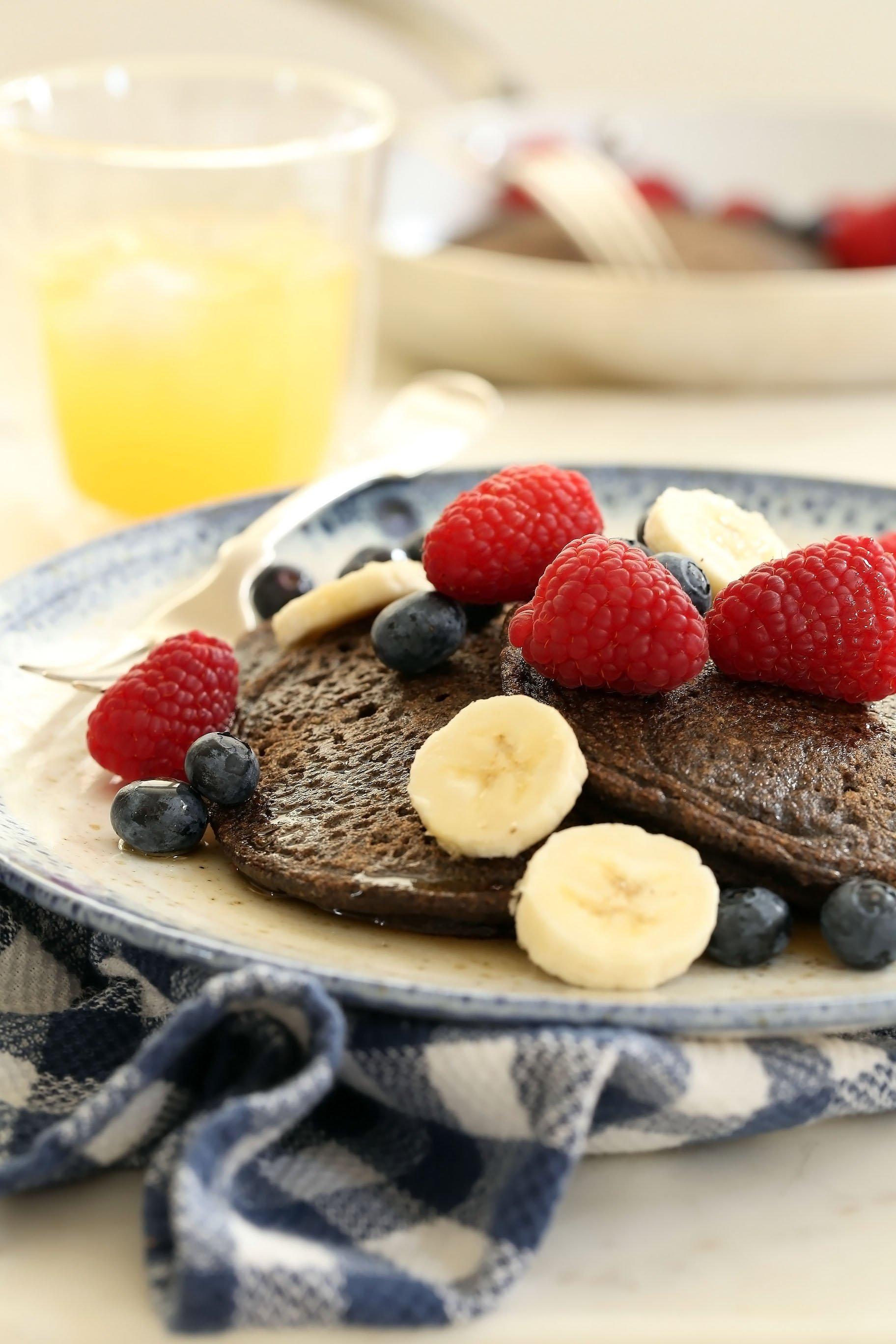 Buckwheat Pancakes Recipe Gluten Free Amp Dairy Free The Harvest Kitchen