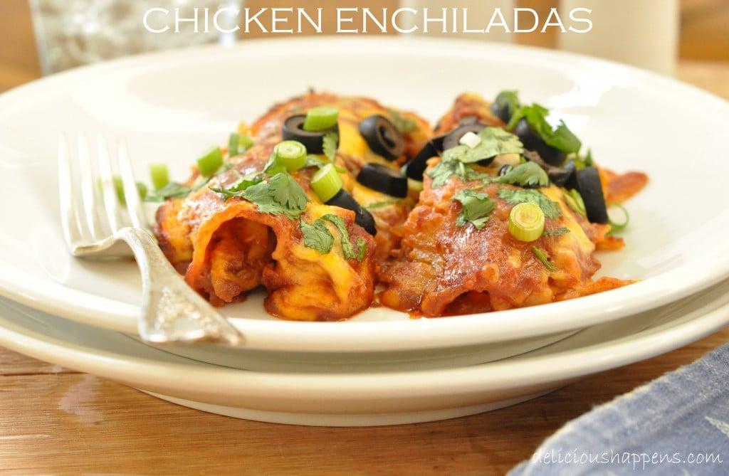 easy-chicken-enchiladas