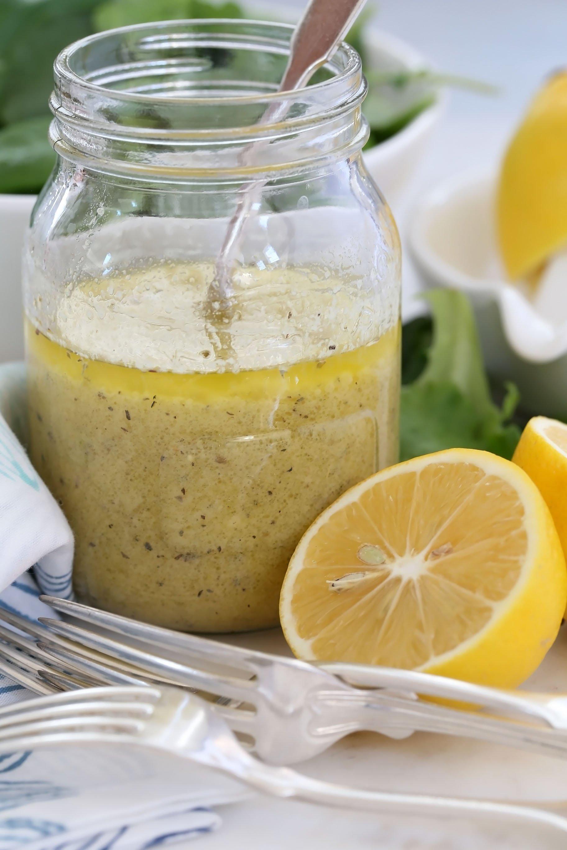 Lemon Mustard Vinaigrette - The Harvest Kitchen