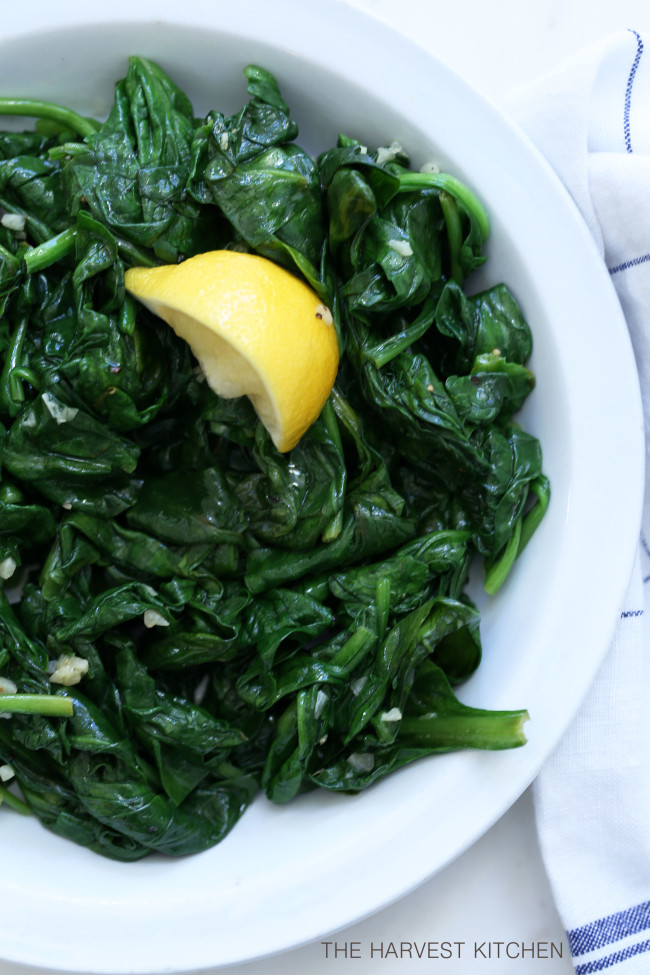 wilted-lemon-garlic-spinach