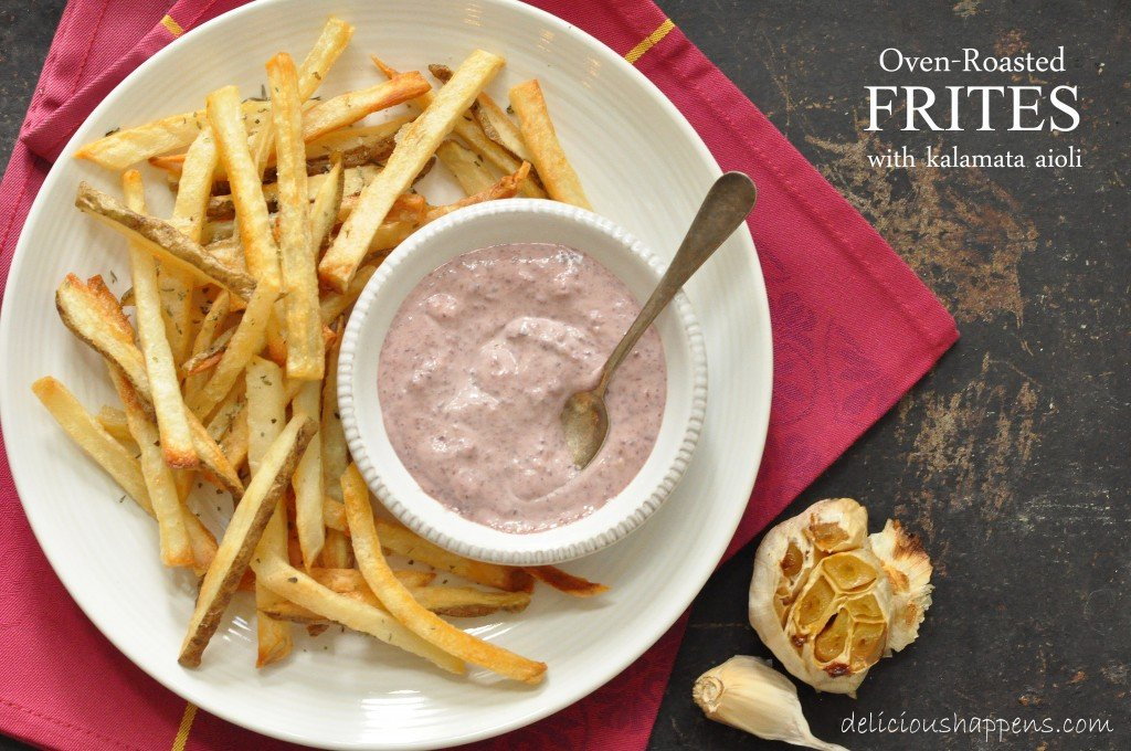 Learn how to make healthy French fries with this easy baked French fries recipe