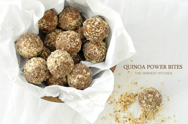 QUINOA POWER BITES