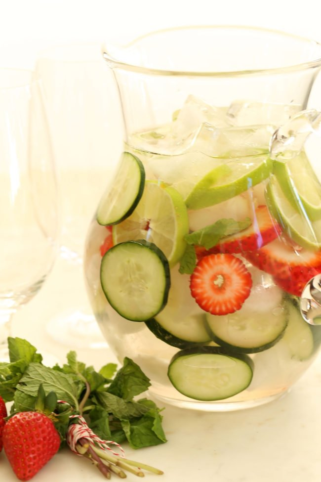 Detox Infused Water - The Harvest Kitchen