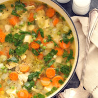 Chicken vegetable soup is a timeless classic that makes a perfect one-pot meal to make any night of the week