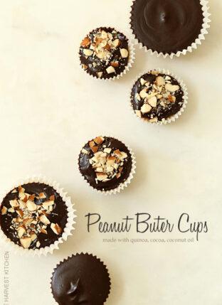 Healthy Peanut Butter Cups (Vegan)