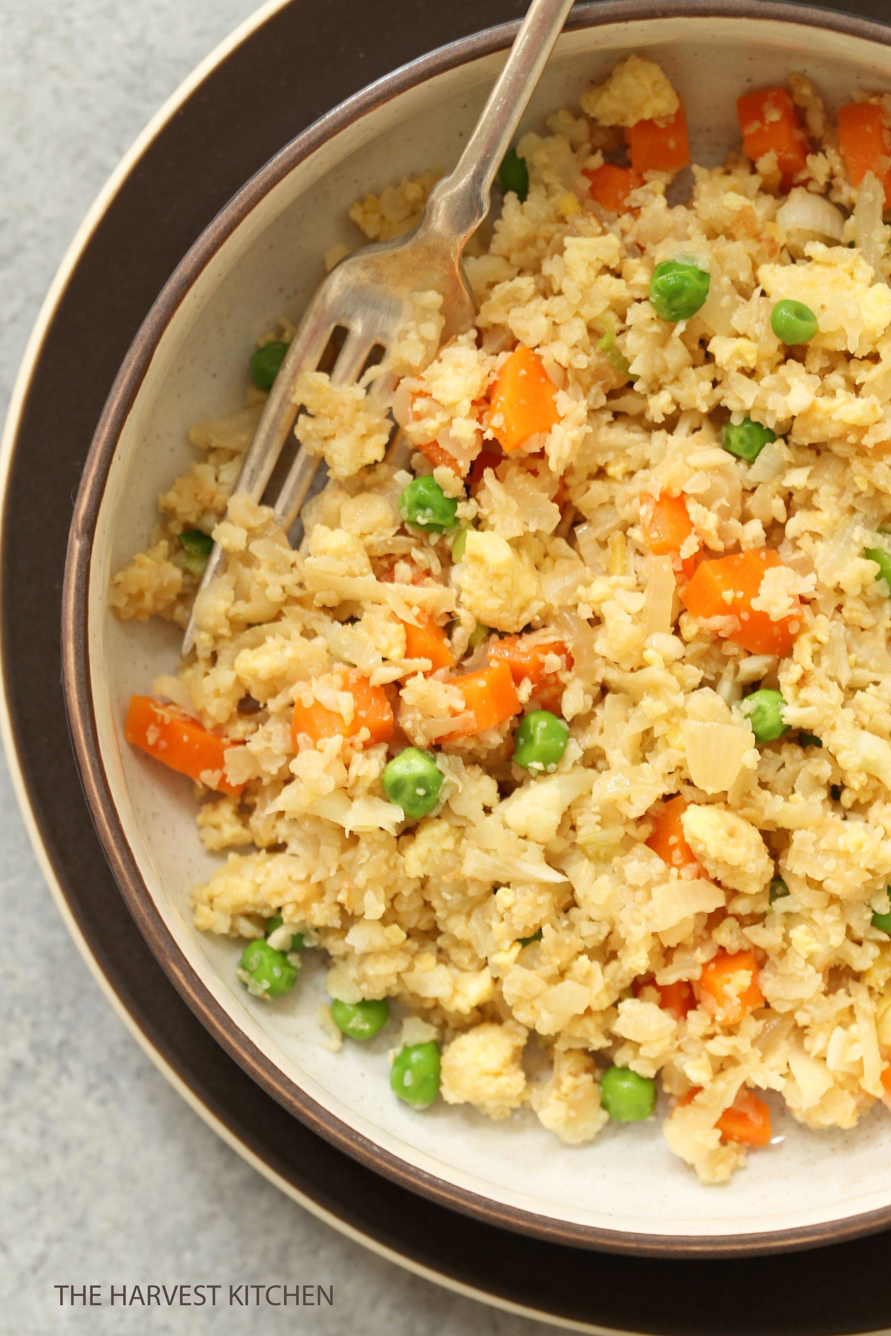 Quick Cauliflower Fried Rice The Harvest Kitchen