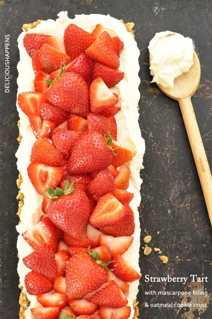 STRAWBERRY-TART-with mascarpone