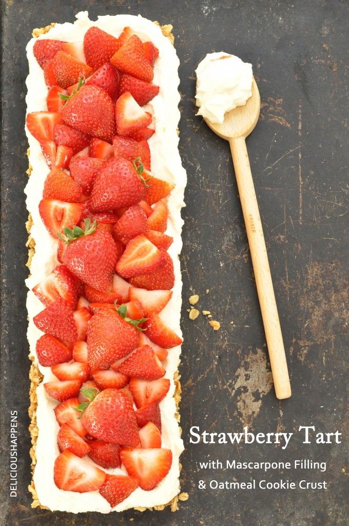 STRAWBERRY-TART-WITH-MASCARPONE