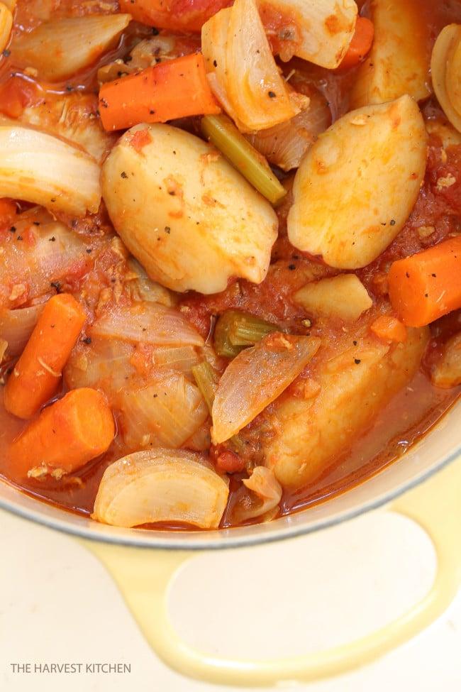 Chicken continental the harvest kitchen best chicken stew forumfinder Gallery