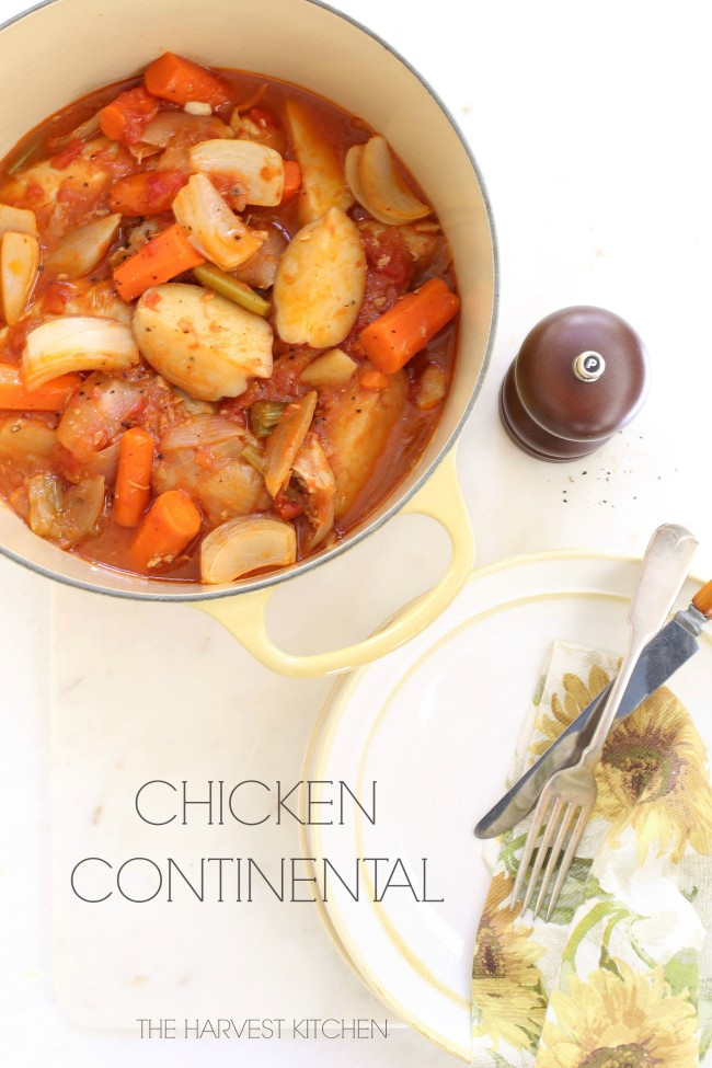 Chicken continental the harvest kitchen chicken continental forumfinder Image collections