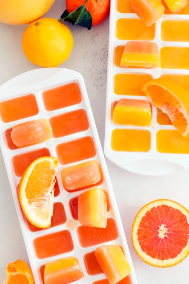 orange juice ice cubes - what is vitamin c good for
